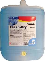 FLASH DRY GLASS CLEANER 20LT