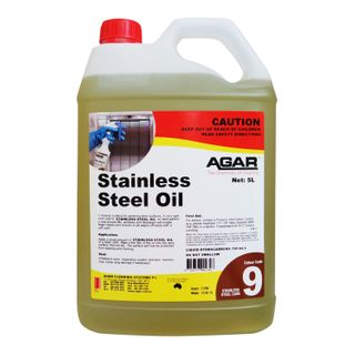 AGAR STAINLESS STEEL OIL 5 LITRE