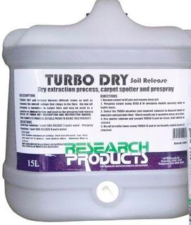 TURBO DRY SOIL RELEASE 15 LITRE RESEARCH