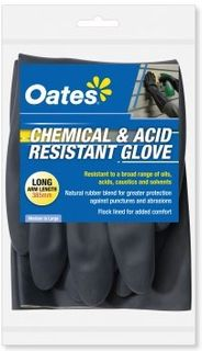 CHEMICAL & ACID RESISTANT GLOVE LONG