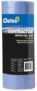 CONTRACTOR WIPE ROLL 30X60 30M CLR050B