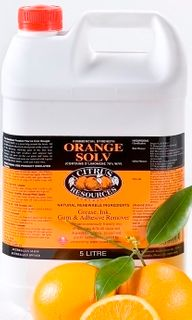 C/R ORANGE  SOLV DEGREASER 5 LITRE