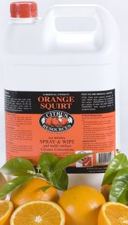C/R ORANGE SQUIRT ALL PURPOSE 5 LITRE