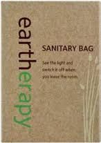 EARTHERAPY SANITARY BAG CTN 250