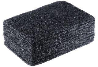 BLACK SCOUR PAD H/DUTY PKT10 SC505