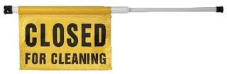 OATES SPRING LOADED CAUTION SIGN JA-004