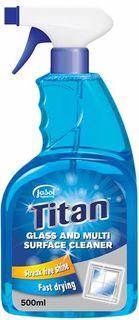TITAN GLASS & MULTI SURF SPRAY 12X500CTN