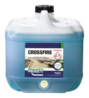 CROSSFIRE 15 LITRE- RESEARCH