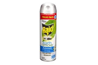 *RAID EARTH AUTO INSECT KILL REFILL 305G