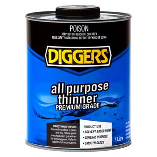 ALL PURPOSE THINNER 1 LTR (DIGGERS)