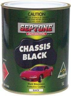 CHASSIS BLACK 1 LITRE **DISC**