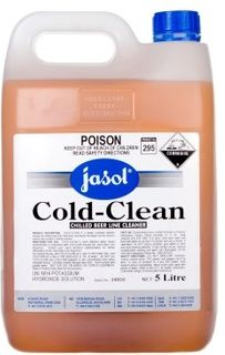 (J) COLD CLEAN BEER LINE CLEANER 5L*DISC