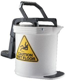 D/CLEAN (ULTRA) MOP BUCKET WHT IW015W