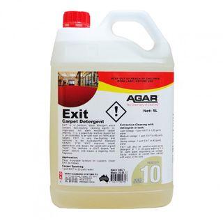 EXIT CARPET SHAMPOO 5 LITRE   (AGAR)
