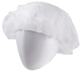 HAIRCOVER WHITE PACK OF 100