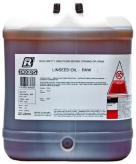 LINSEED OIL RAW 20 LITRE