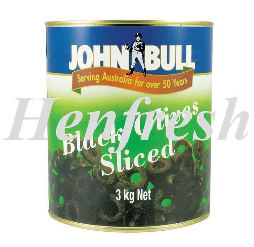 JB Black Olives Sliced 6xA10