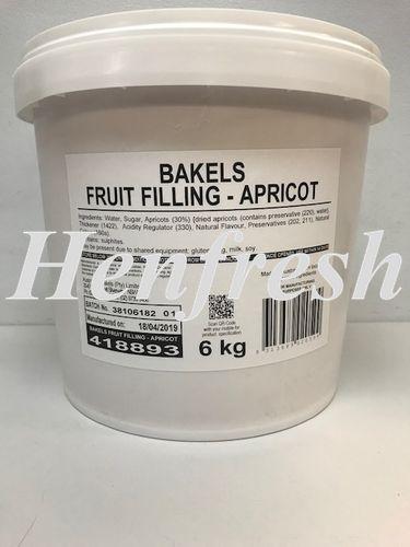 Bakels Apricot Filling 19% 6kg