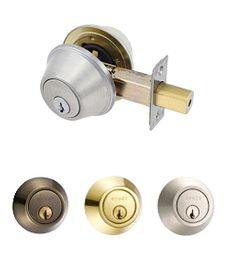 EZSET Double Cylinder Deadbolt Lock PB