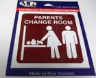 PARENTS CHANGE ROOM SIGN