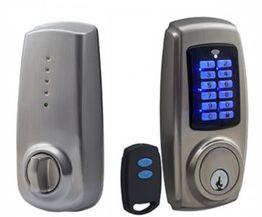 Electronic Keypad Deadbolt Lock + Remote