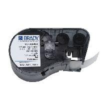 Brady Label MC-500 - 461 12.7 x 7.62mm Black/White (Cartridge)