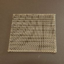 Wire Gauze, 8 Mesh, 24 gauge Long Life Chrome/Nickel Wire with Folded Edges