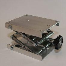 Laboratory Jack 200 x 150mm Aluminium Platform, 70 x 350mm Elevation