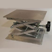 Laboratory Jack 200 x 220mm Aluminium Platform, 70 x 350mm Elevation