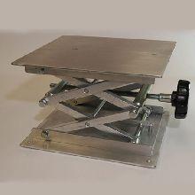 Laboratory Jack 200 x 220mm Aluminium Platform, 70 x 350mm Elevation