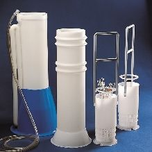 Pipette Jar Polypropylene 162mm Dia. x 650mm High