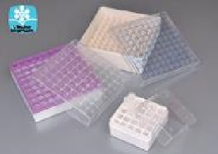 Cryobox Autoclavable Polycarbonate 81 Place for Vials and Tubes to 12.5mm Dia. -196 to 121 Degrees