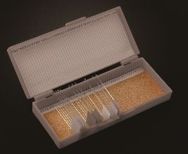50 Place Slide Storage Boxes, ABS with waterproof Index Card and Cork Lined