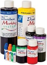 Davidson Tissue Marking Dye Orange (8oz/Bottle) 237ml