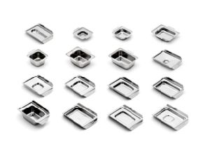 Tissue Tek Base Moulds 12mm Deep Stainless Steel