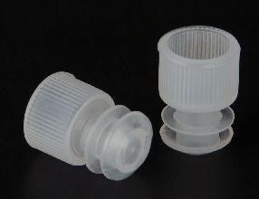 Test Tube Cap Polyethylene Flange Type