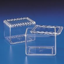 Staining Jar with 2 Lids (TPX) 74 x 95 x 63 for use with #354