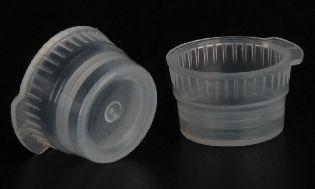 Cap Flexible Polyethylene for 16mm Tubes Natural (1000/Pack)