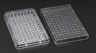 Microplate 96 Well Plate U Bottom with Lid Individual Sterile (100/Carton)