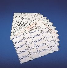 "Label, self adhesive for Wash Bottles ""Distilled Water"" (10/Sheet)"