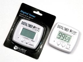 Timer Digital, Count Up/Down 99 min/59 Sec, Pocket Clip, Magnet and stand for multiple use