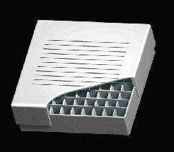 Freezer 2 inch Storage Box 100 Place, 10 x 10 format, White Cardboard, 134 x 134 x 76mm