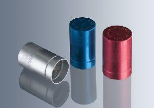 Labocaps 12 - 13mm Anodised Aluminium