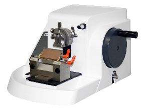 M380 Microtome Rotary Manual includes Low Profile Blade Holder for Disposable Blades #24-3230-00 and Universal Cassette Clamp for Standard Cassettes #24-3232-00
