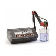 pH/mV Benchtop Meter with 0.01 pH Resolution, 230V
