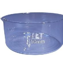 Crystallizing Dish Glass 150mm Dia. x 75mm high with Spout