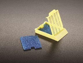 Biopsy Foam Blue for Histosette II (10 x 1000/Case)