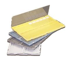 M750 Slide Folder with hinged Lid, Polystyrene