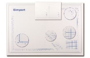 Simport Dissecting Board 575 x 400 x 12.5mm
