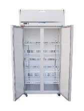 Thermoline Premium Freezer 520lt, Digital -20 Degrees, Frost Free with 4 Adjustable position Shelves, Self Closing Key Lockable Glass Door with Castors, ID. 580 x 560 x 1460mm (image for illustration only)